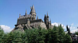 晴れた日のお城