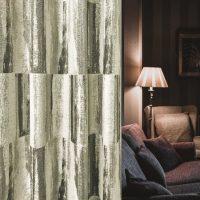 14288|グレーのスタイリッシュプレミアムカーテン