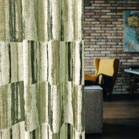 14289|ベージュのスタイリッシュプレミアムカーテン